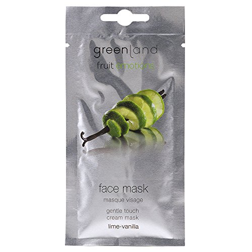 greenland [FruitEmotions] フェイスマスク 10ml ライム&バニラ FE0134