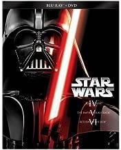 New Star Wars Trilogy: Episodes IV-VI [6 Discs] [Blu-ray/DVD]