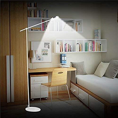 BINGFANG-W Dormitorio Conducido Creativo Bed Head Dormitorio Estudio Escritorio Mesa de Lectura lámpara de Escritorio Eye-Cuidado Vertical luz del Piso Lámparas de pie