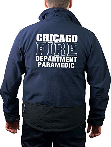 feuer1 Softshelljacke Navy, Chicago Fire Dept, Paramedic