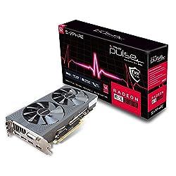 Sapphire Pulse Radeon RX 580 8GD5 Scheda Grafica 8 GB, GDDR5, 256 bit Memory Bus: Amazon.it: Informatica