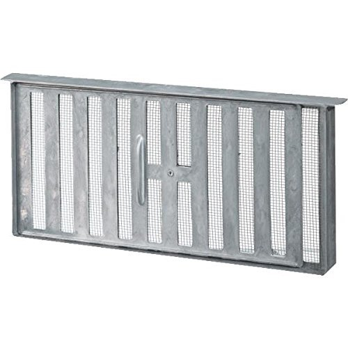 45 Sq In Free Area Aluminum Manual Foundation Vent by Air Vent Inc