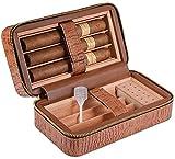 WQQLQX Humidor Humidor de cigarros Caja de Almacenamiento de cigarros versátil, Fuerte Resistente al Desgaste y Sellado