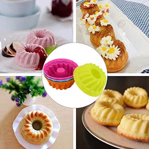 Backbecher Silikon Kuchenform Muffinformen für Gelee