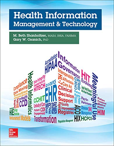 Health Information Management and Technology (P.S. Health Occupations)
