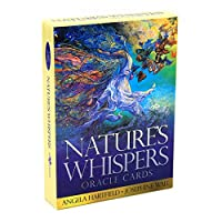 kimtery Nature's Whispers Oracle 50 Cards Deck English Tarot Divination Fate Board Game