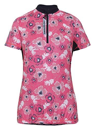 Rukka RATINA - Dames Bike - Shirt/Fiets Shirt/Fietsshirt in PINK/Yellow
