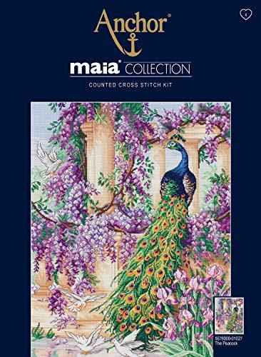 Anchor Maia korsstygn – påfågeln