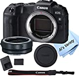 Canon EOS RP Mirrorless Camera (Body Only)+ Mount Adapter EF-EOS R ,Cleaning Cloth (7pc Bundle)