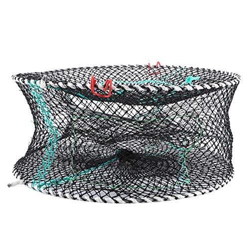 N#A Red para cangrejos, Red para Langostas, Red para lanzar, Trampa para Langostas, Red para cangrejos, Plegable y Duradera para Pescar en Aguas Poco Profundas