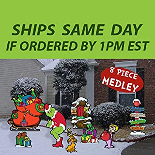 Best grinch yard cutouts Reviews