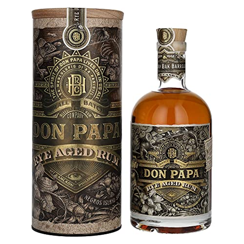 Don Papa Rum Rye Aged Rum 45% - 700ml in Giftbox