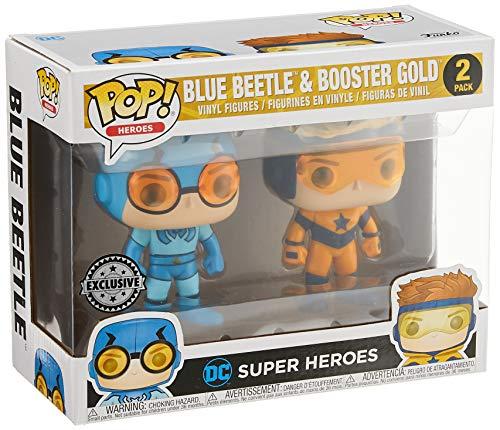 Pop Booster Gold & Blue Beetle Vinyl Figure 2 Pack