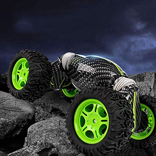 Raelf RC STUNT Coche 2.4GHz Dos conversión Forma de conversión Toy Toy Remote Control Racing All Terreno 4WD Off-Road Control Remoto Car Coche 3-6 años STUNT SUPER SUPER BIG FOURTHER DRUCHE DOXBILLO 3