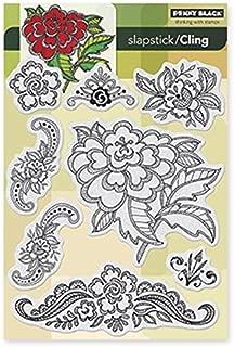 Penny Black Floral Applique Slapstick/Cling Stamp