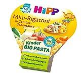 HiPP Kinder-Bio-Pasta Mini-Rigatoni in Gemüse-Sahnesauce, 6er Pack (6 x 250 g)