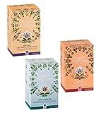 English Tea Shop Collezione di Tè Bianchi Biologici Made in Sri Lanka: 1 x Lychee & Cacao, 1 x Cocco & Frutto della Passione, 1 x Puro Bianco - 3 x 20 Bustine di Tè (120 Grammi)