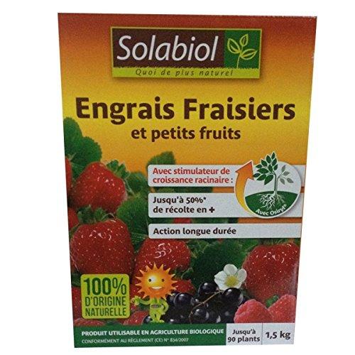 Fertilizzante per fragole, 1,5 kg Solabiol