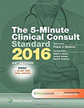 The 5-Minute Clinical Consult Standard 2016: Print + 10-Day Web Trial Access (The 5-Minute Consult Series)