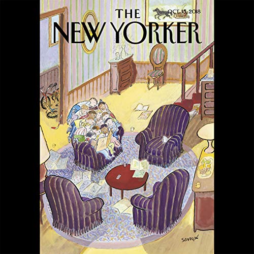 The New Yorker, October 15th 2018 (Dexter Filkins, Nathan Heller, Casey Cep) cover art