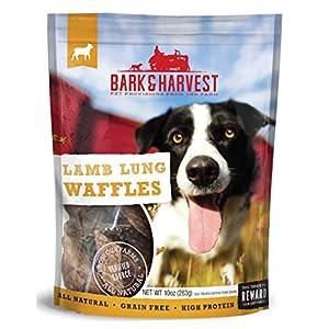 Superior Farms Pet Provisions, Lamb Lung Waffles, Dog Snack Treats, 10Oz.