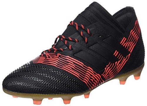 adidas Nemeziz 17.1 FG J, Botas de Fútbol Unisex Niños, Negro (Negbas/Negbas/Rojsol 000), 36 EU