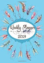 Weekly Planner 2019: 12 Months January to December with weekly notes section for your own affirmation and act of kindness (WP 7