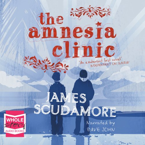 The Amnesia Clinic audiobook cover art