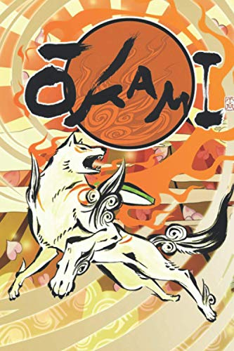 Okami Notebook: (110 Pages, Lined, 6 x 9)