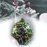 Bola inflable de Navidad para exteriores decorada,bolas inflables de PVC de Navidad de 23,6 pulgadas,decoraciones para exteriores con bomba,adornos navideños gigantes para el hogar ( Color : F )