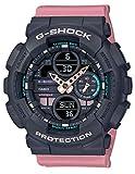 G-Shock By Casio Women's Analog-Digital GMA-S140-4A Watch Black/Pink