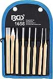 BGS 1658 | Juego de botadores | 150 mm | incl. cinceles + granetes | 8 piezas