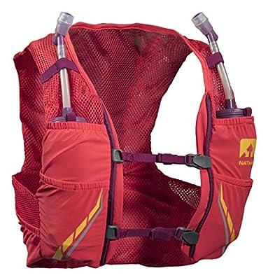 Nathan NS4545-0326-33 Female VaporMag 2.5L Running Hydration Packs, Hibiscus/Magenta Purple, Medium