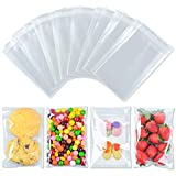 350 Pcs 4x6' Clear Cello Bags, Self Adhesive Clear Plastic Bag, Resealable Cellophane Bags, OPP Bags Great for Packaging, Gift Wrapping, Bakery, Cookie, Candies, Card, Dessert, Party Favors Packaging