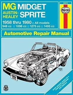 MG Midget and Austin Healey Sprite Owner's Workshop Manual - 1958 to 1980 by Haynes. J. H. ( 1988 ) Paperback