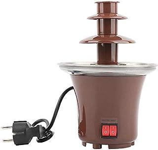 Fondue De Fuente De Chocolate De 220V, Fuente De Fiesta Eléctrica Pequeña De 3 Niveles, Controles Independientes De Calor Y Motor, Elemento Calefactor De 65 Vatios