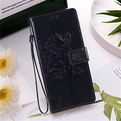 kuaijiexiaopu Fundas Para LG K20 K30 K40S K50S G8 G4 G5 G7, Bolsa de soporte de la cubierta de la cubierta de la cartera de la funda de cuero de relieve para LG K4 K8 2017 K10 2018 x Power 2 3 Nexus 5