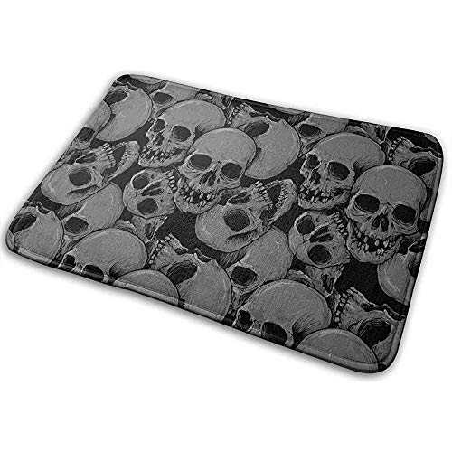 DaiMex deurmat, veel schedel deurmat, tapijt, wasbaar tapijt