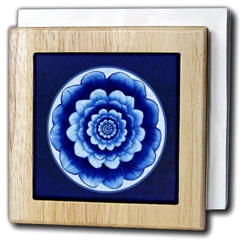 3dRose Knot Celtic Design Napkin Holder, 6', Blue