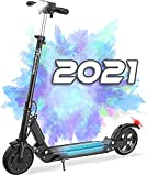 RCBTrotinette Electrique Adulte Pliable,Electric ScooterVitesse maximale 30km/h,MoteurPuissantintégré,pneusantidérapantsSolides,lumièresLEDetécranLCD,étanche,adaptéauxAdultes