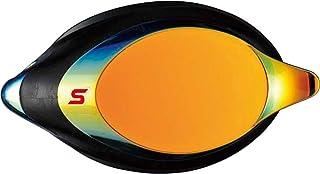 SWANS(スワンズ) 日本製 スイミングゴーグル 度付きレンズ SRXCL-M PAF レーシング ミラータイプ クッション付 大人用 片眼レンズのみ