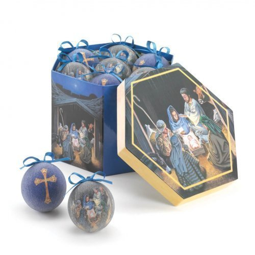 Home Locomotion Nativity Ornament Set by Home Locomotion