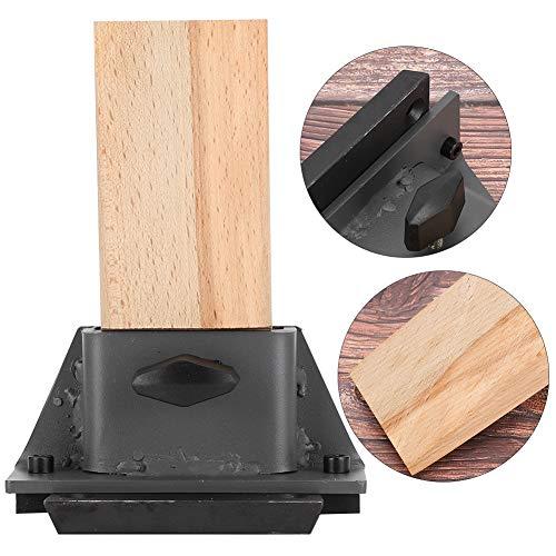 Sieradenverwerkingsgereedschap, draagbaar Houten hoge hardheid Praktisch Vaste tafelplug Tafel houten stuwwerk Aanpassing werktafels Werkbankpluggereedschap