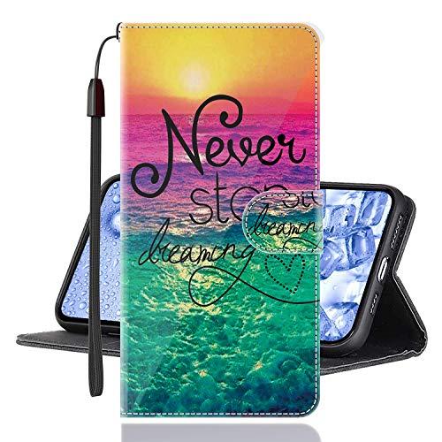 Sinyunron Custodia Samsung Galaxy J4 Core Cover in Pelle PU,Chiusura Magnetica a Scatto Portafoglio Protettiva,Flip Supporto Stand Wallet Case (COVER-04B)