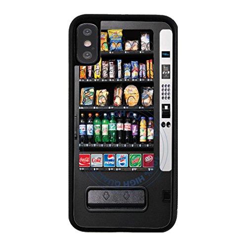 BleuReign Vending Machine Rubber Phone Case for Apple iPhone X Xs Ten