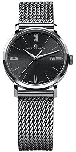 Maurice lacroix eliros Reloj para Mujer Analógico de Cuarzo con Brazalete de Acero Inoxidable EL1084-SS002-310-1