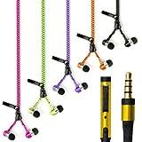 theoutlettablet® Écouteurs intra-auriculaires avec fermeture Éclair HiFi stéréo dispose de...