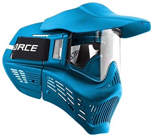 VForce Armor Field Vision Paintballmaske Gen 3, Single Glas, blau