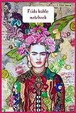 frida kahlo: Colorful Frida Kahlo Ruled Lined 120 Pages (Composition Book, Journal) (6 x 9 Large)