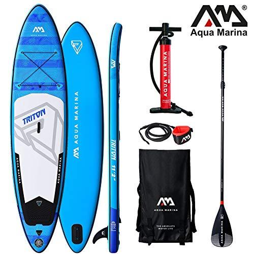 Aqua Marina Triton aufblasbares SUP – iSUP, Stand Up Paddelboard 340x81x15